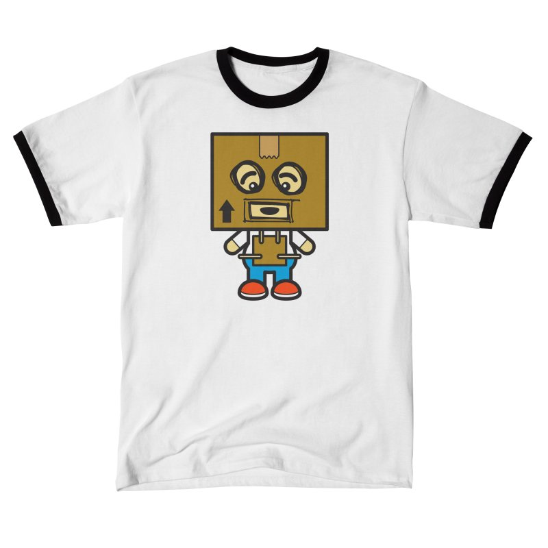 Box Bot (Cosplay Love™) Women's T-Shirt by Big Head Productions Artist Shop