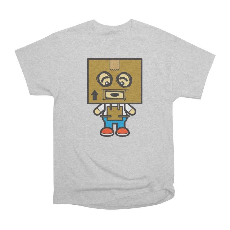 Box Bot (Cosplay Love™) Men's T-Shirt by Big Head Productions Artist Shop