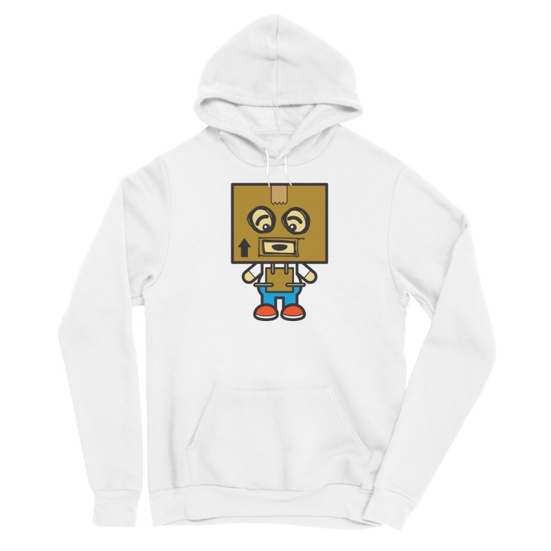 Box Bot (Cosplay Love™) Women's Pullover Hoody by Big Head Productions Artist Shop
