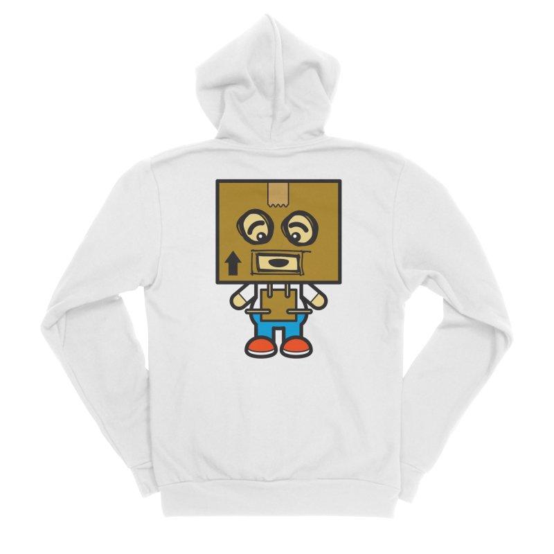 Box Bot (Cosplay Love™) Women's Zip-Up Hoody by Big Head Productions Artist Shop