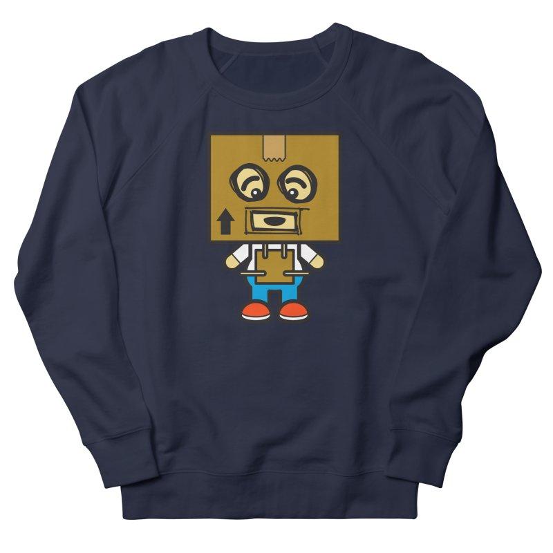Box Bot (Cosplay Love™) Men's Sweatshirt by Big Head Productions Artist Shop