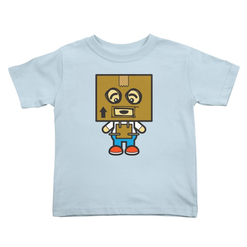 Box Bot (Cosplay Love™) Kids Toddler T-Shirt by Big Head Productions Artist Shop