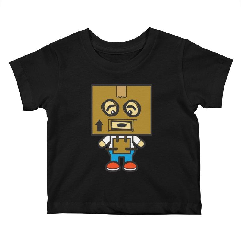 Box Bot (Cosplay Love™) Kids Baby T-Shirt by Big Head Productions Artist Shop