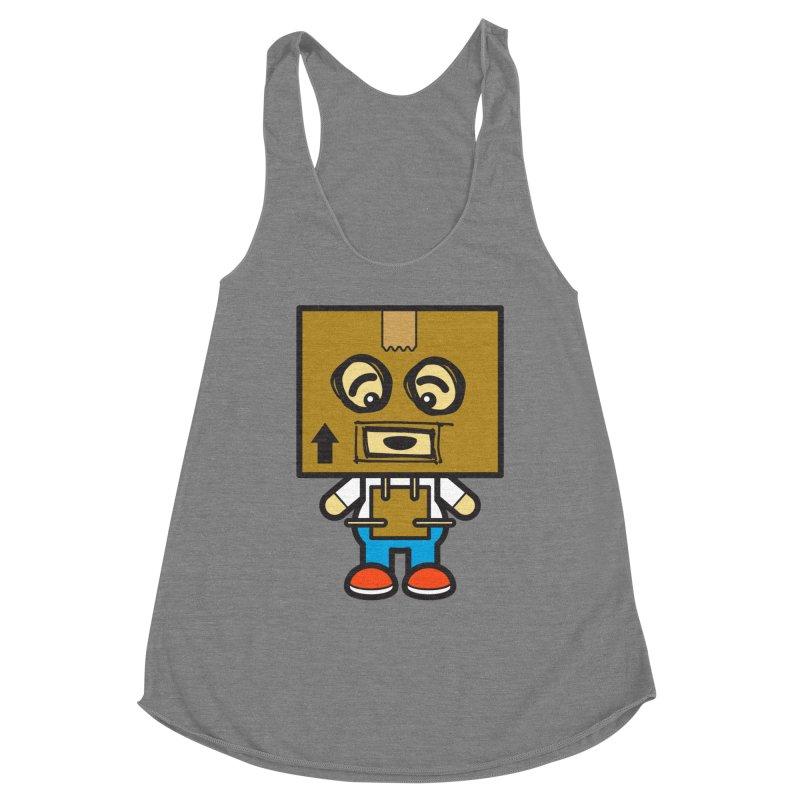 Box Bot (Cosplay Love™) Women's Tank by Big Head Productions Artist Shop
