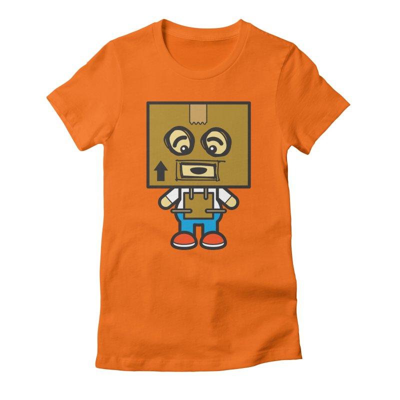 Box Bot (Cosplay Love™) Women's T-Shirt by Big Head Productions Artist Shop