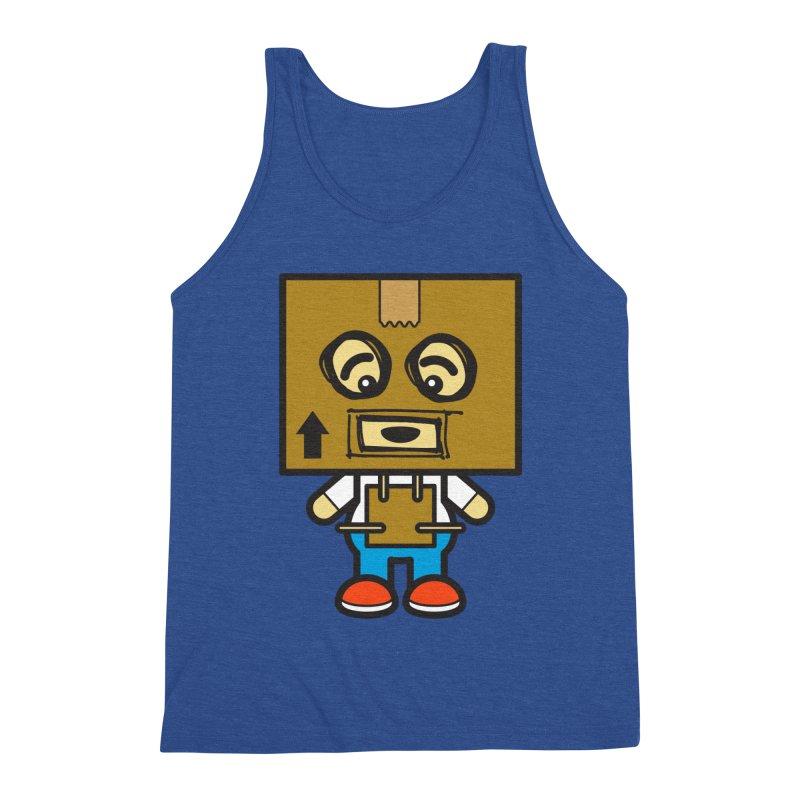 Box Bot (Cosplay Love™) Men's Tank by Big Head Productions Artist Shop