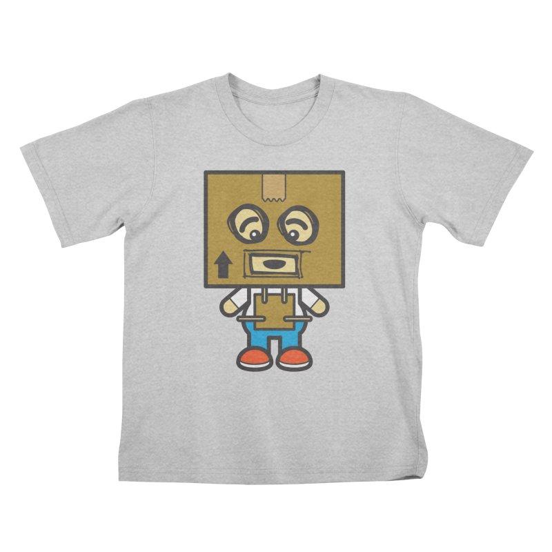 Box Bot (Cosplay Love™) Kids T-Shirt by Big Head Productions Artist Shop