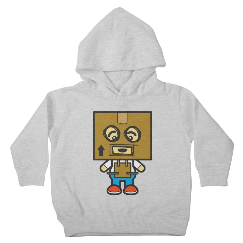 Box Bot (Cosplay Love™) Kids Toddler Pullover Hoody by Big Head Productions Artist Shop