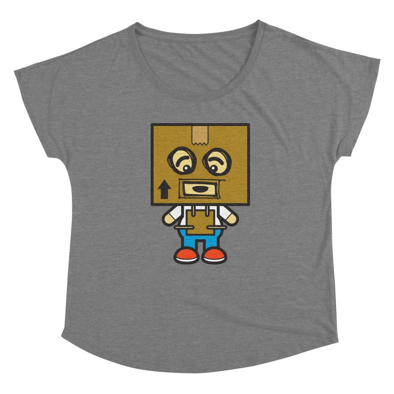 Box Bot (Cosplay Love™) Women's Scoop Neck by Big Head Productions Artist Shop