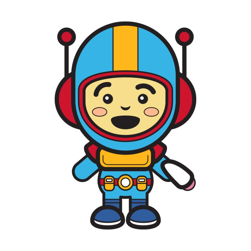 Spaceman (Cosplay Love™) Kids Baby Zip-Up Hoody by Big Head Productions Artist Shop