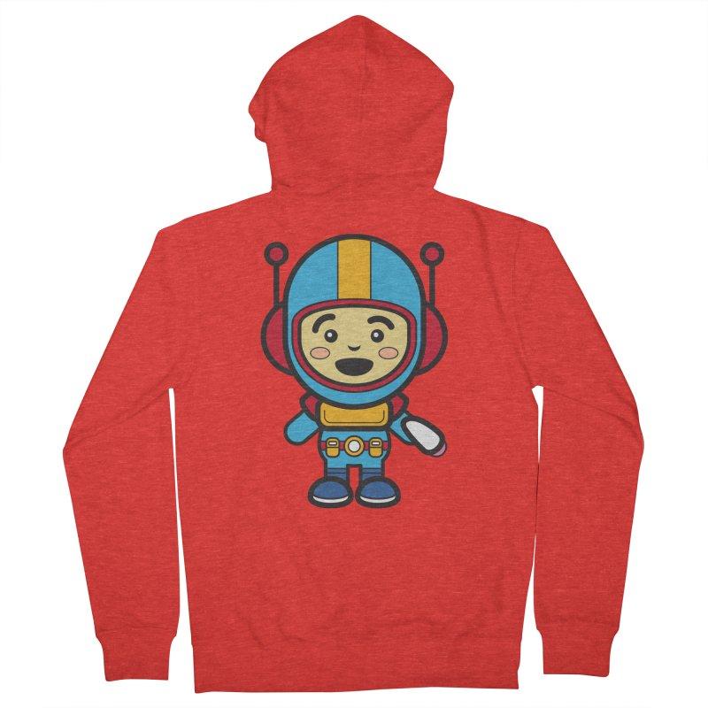 Spaceman (Cosplay Love™) Men's Zip-Up Hoody by Big Head Productions Artist Shop