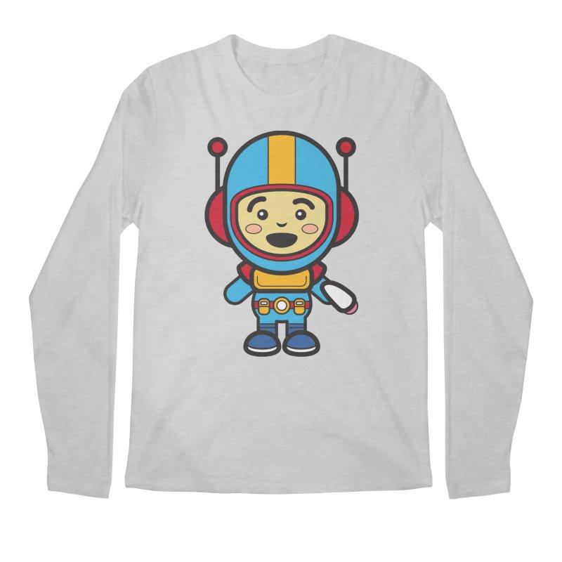 Spaceman (Cosplay Love™) Men's Longsleeve T-Shirt by Big Head Productions Artist Shop