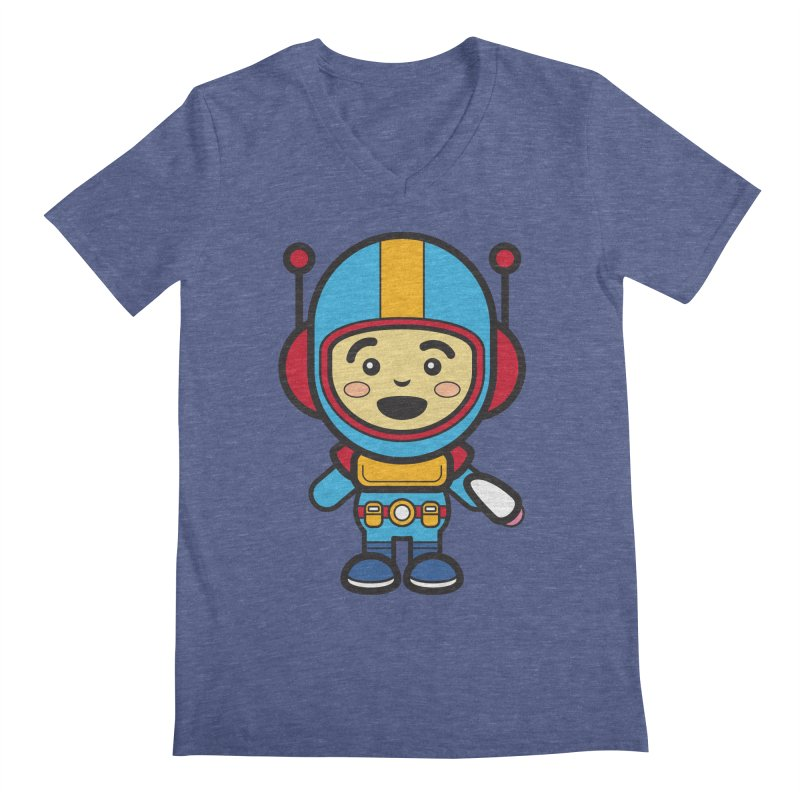Spaceman (Cosplay Love™) Men's V-Neck by Big Head Productions Artist Shop