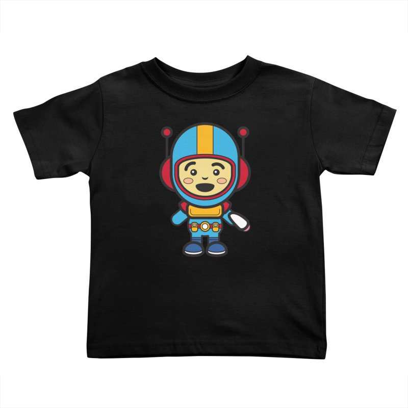Spaceman (Cosplay Love™) Kids Toddler T-Shirt by Big Head Productions Artist Shop