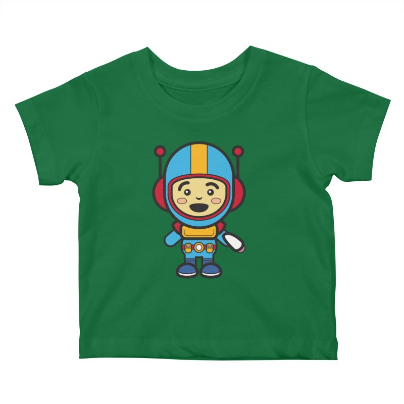 Spaceman (Cosplay Love™) Kids Baby T-Shirt by Big Head Productions Artist Shop