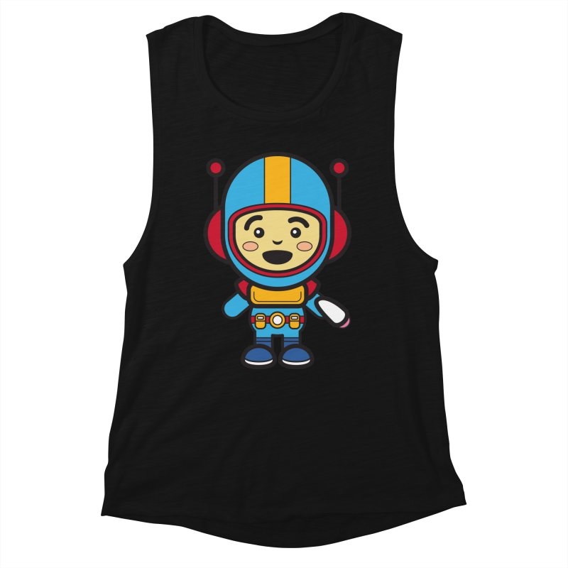 Spaceman (Cosplay Love™) Women's Tank by Big Head Productions Artist Shop