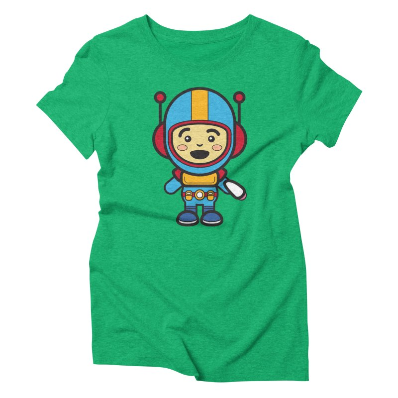 Spaceman (Cosplay Love™) Women's T-Shirt by Big Head Productions Artist Shop