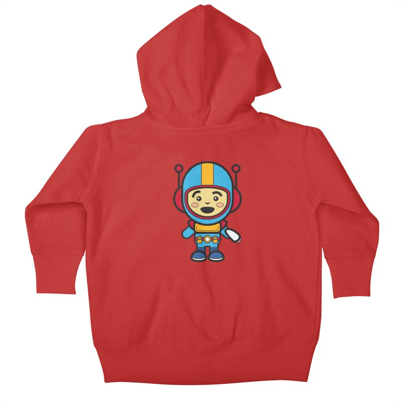 Spaceman (Cosplay Love™) Kids Baby Zip-Up Hoody by Big Head Productions Artist Shop