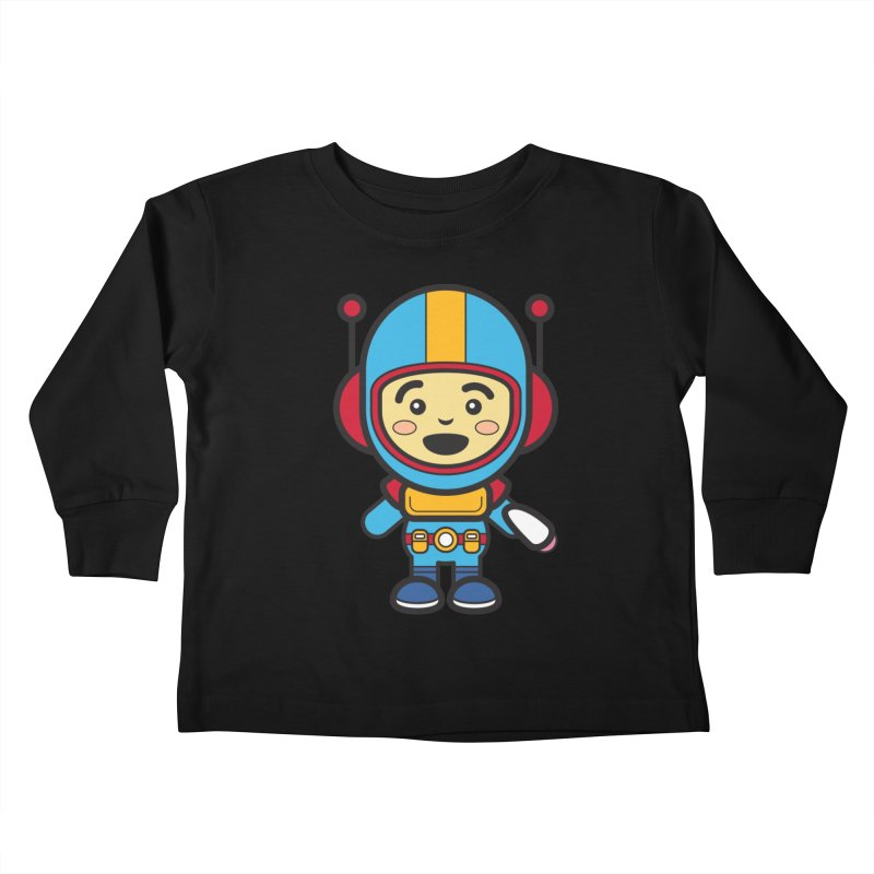Spaceman (Cosplay Love™) Kids Toddler Longsleeve T-Shirt by Big Head Productions Artist Shop