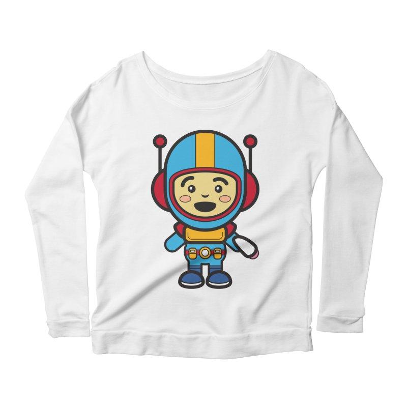 Spaceman (Cosplay Love™) Women's Longsleeve T-Shirt by Big Head Productions Artist Shop