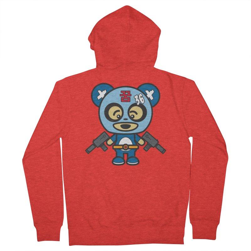 Wasteland Panda, boy (Cosplay Love™) Women's Zip-Up Hoody by Big Head Productions Artist Shop