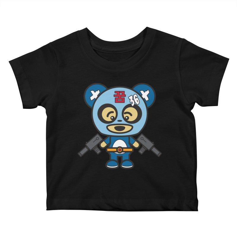 Wasteland Panda, boy (Cosplay Love™) Kids Baby T-Shirt by Big Head Productions Artist Shop