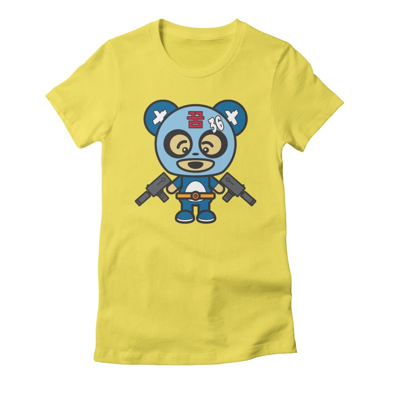 Wasteland Panda, boy (Cosplay Love™) Women's T-Shirt by Big Head Productions Artist Shop