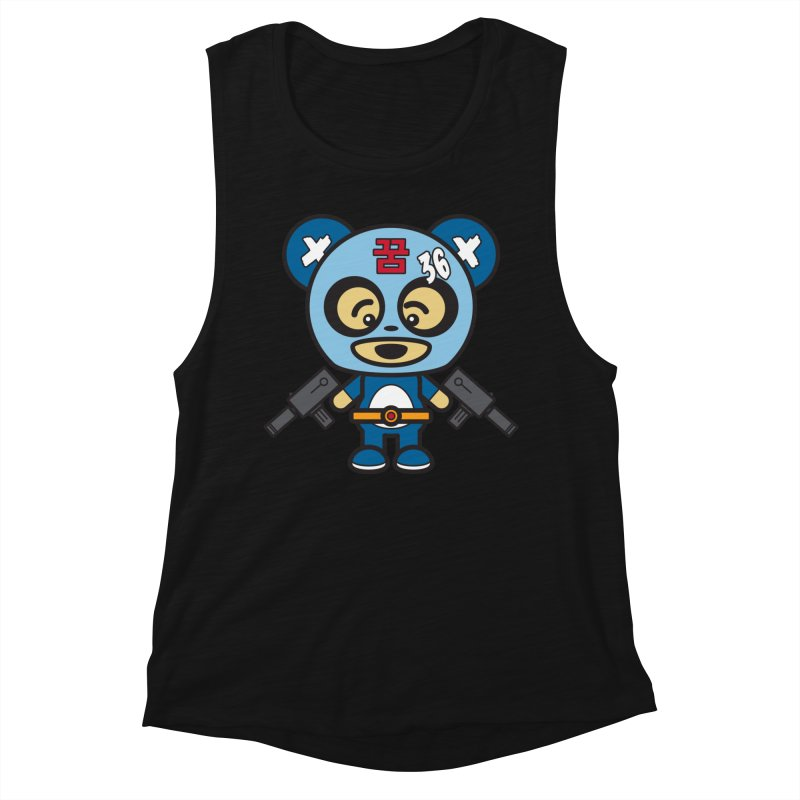 Wasteland Panda, boy (Cosplay Love™) Women's Tank by Big Head Productions Artist Shop