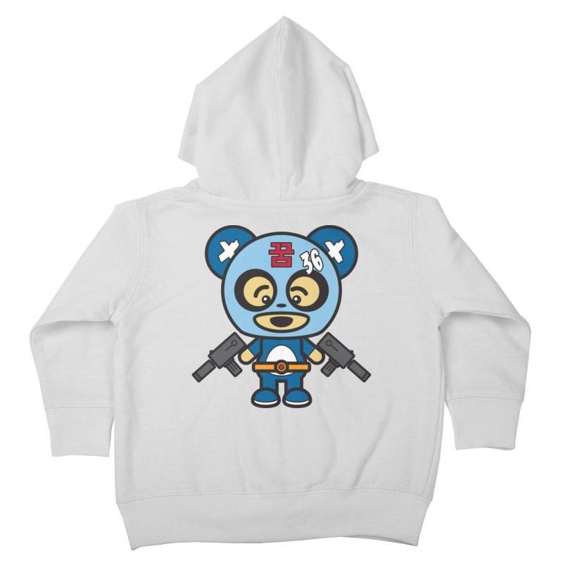 Wasteland Panda, boy (Cosplay Love™) Kids Toddler Zip-Up Hoody by Big Head Productions Artist Shop