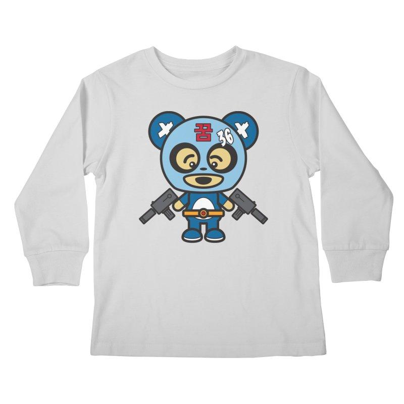 Wasteland Panda, boy (Cosplay Love™) Kids Longsleeve T-Shirt by Big Head Productions Artist Shop