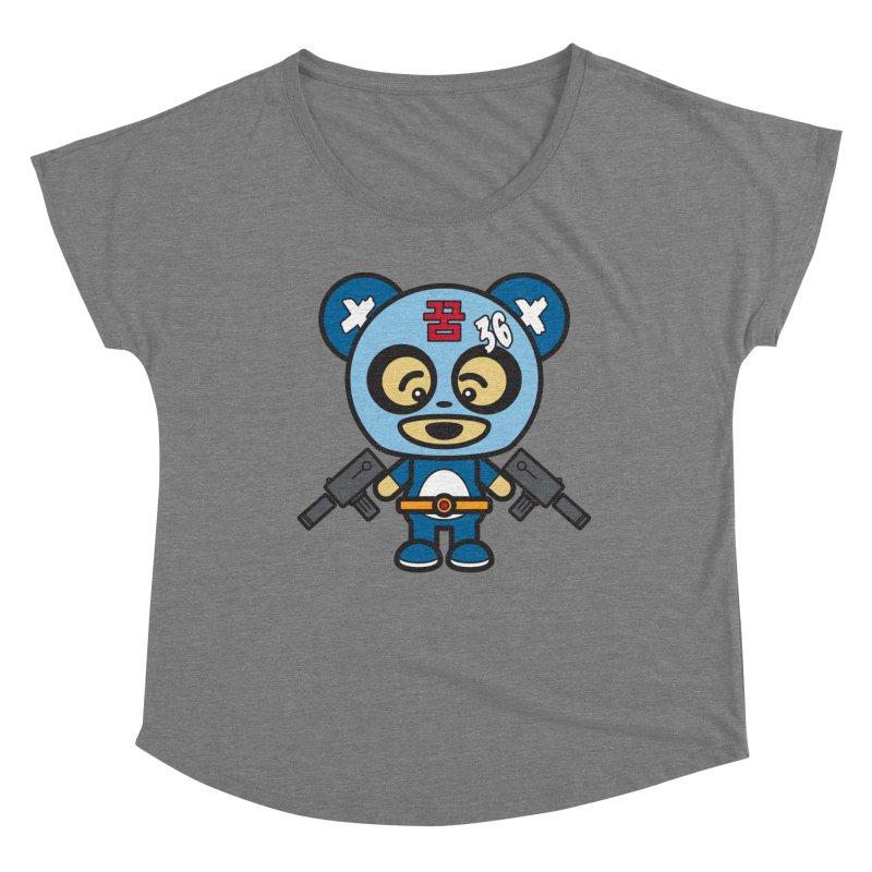 Wasteland Panda, boy (Cosplay Love™) Women's Scoop Neck by Big Head Productions Artist Shop