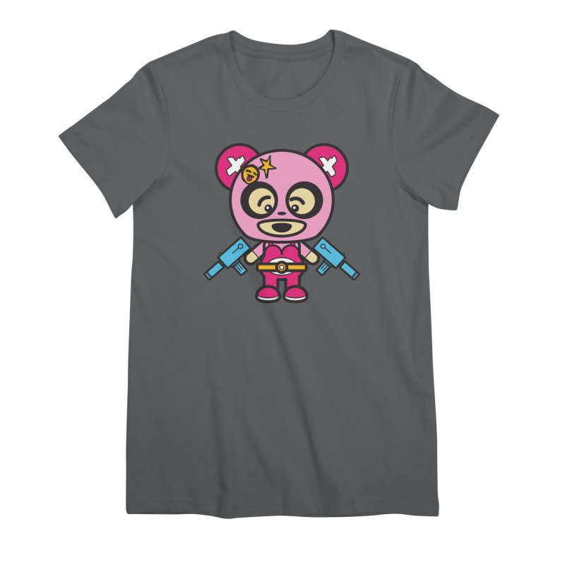 Wasteland Panda, girl (Cosplay Love™) Women's T-Shirt by Big Head Productions Artist Shop