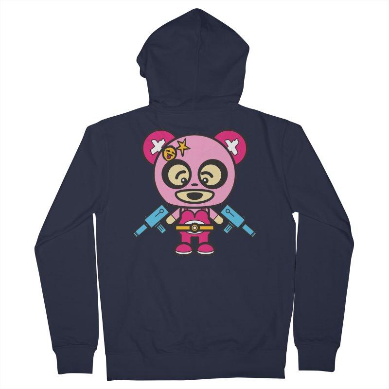 Wasteland Panda, girl (Cosplay Love™) Women's Zip-Up Hoody by Big Head Productions Artist Shop