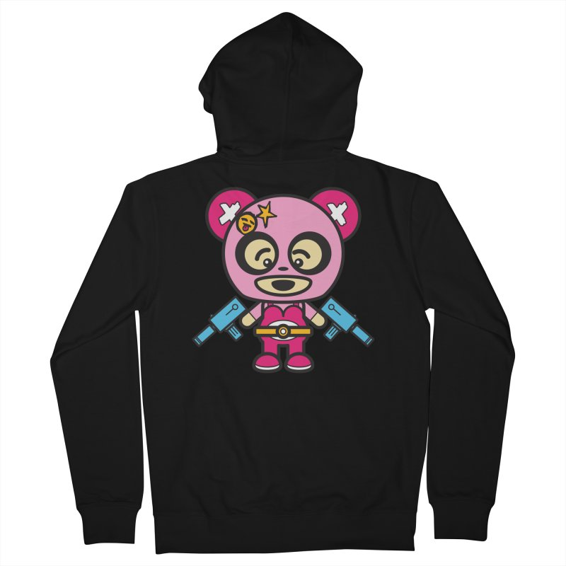 Wasteland Panda, girl (Cosplay Love™) Men's Zip-Up Hoody by Big Head Productions Artist Shop