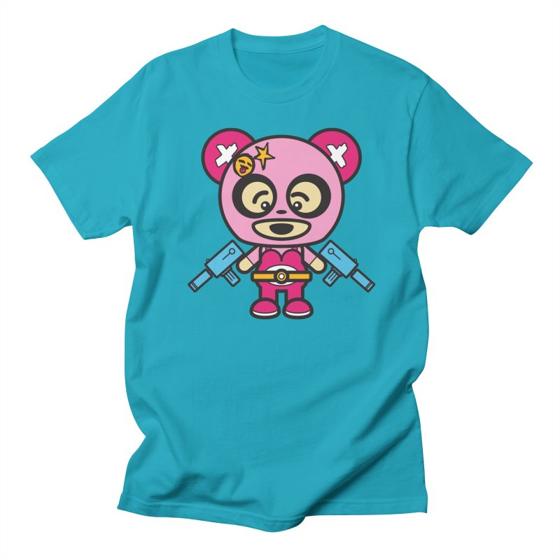 Wasteland Panda, girl (Cosplay Love™) Men's T-Shirt by Big Head Productions Artist Shop