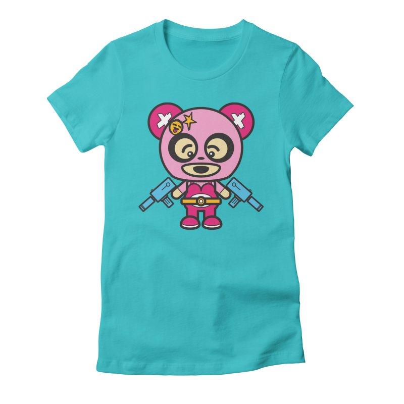 Wasteland Panda, girl (Cosplay Love™) Women's T-Shirt by Big Head Productions Artist Shop