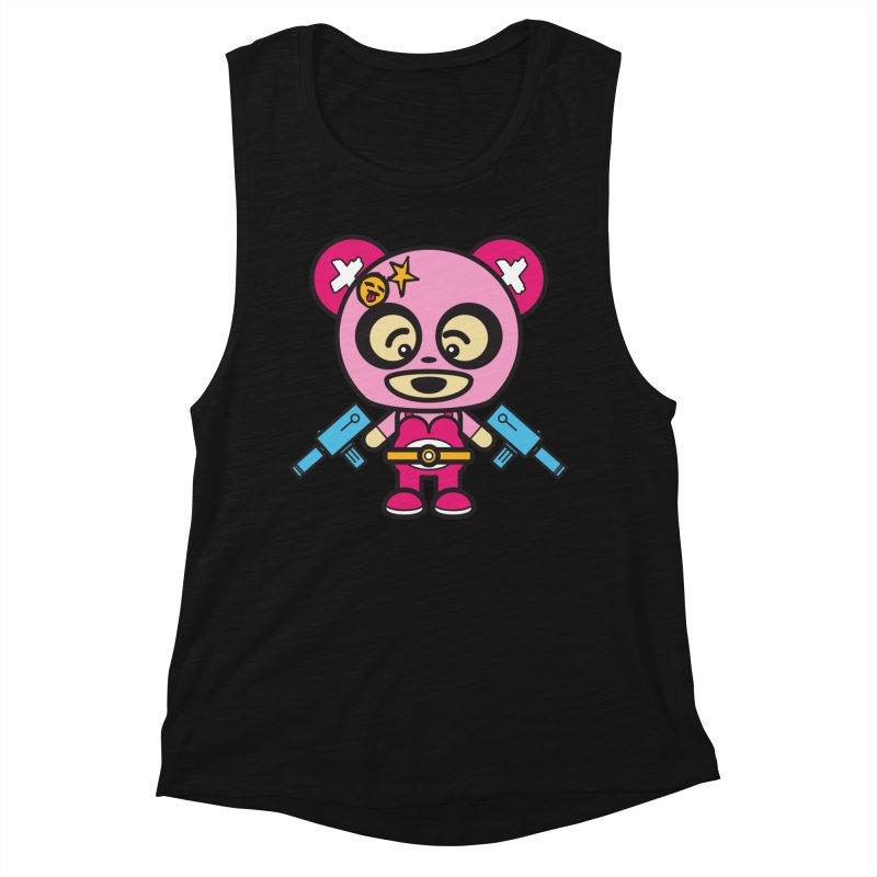 Wasteland Panda, girl (Cosplay Love™) Women's Tank by Big Head Productions Artist Shop