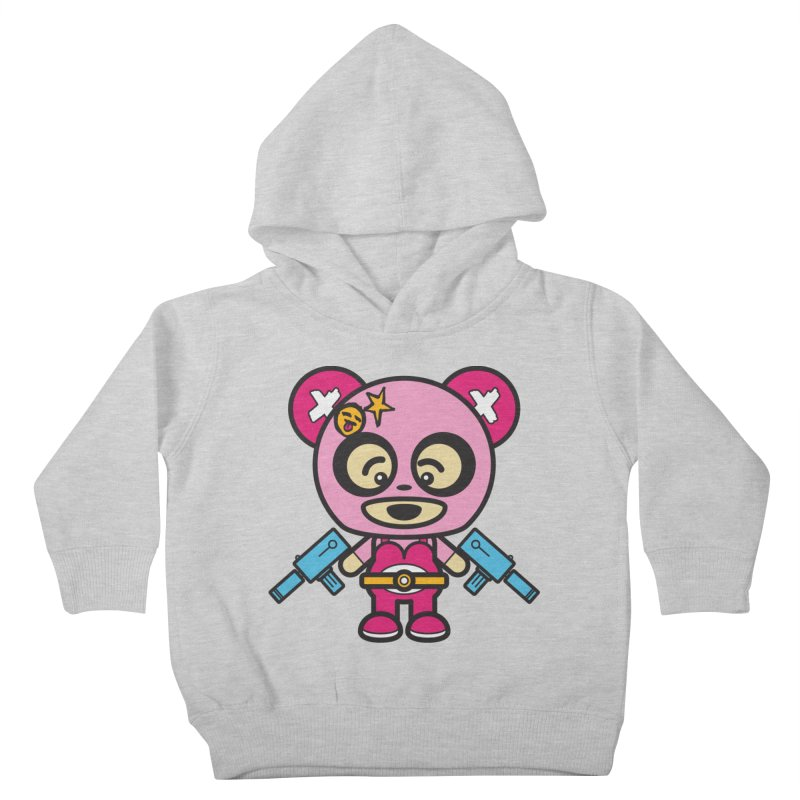 Wasteland Panda, girl (Cosplay Love™) Kids Toddler Pullover Hoody by Big Head Productions Artist Shop
