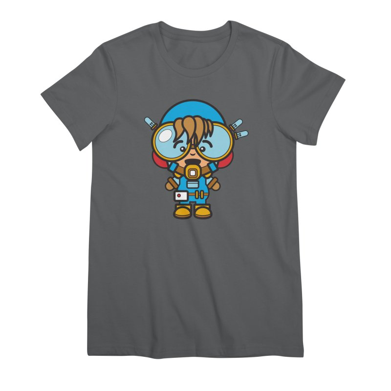 Workman (Cosplay Love™) Women's T-Shirt by Big Head Productions Artist Shop