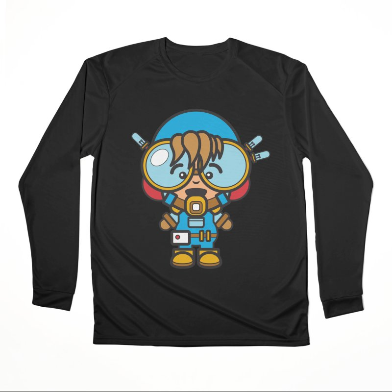 Workman (Cosplay Love™) Women's Longsleeve T-Shirt by Big Head Productions Artist Shop