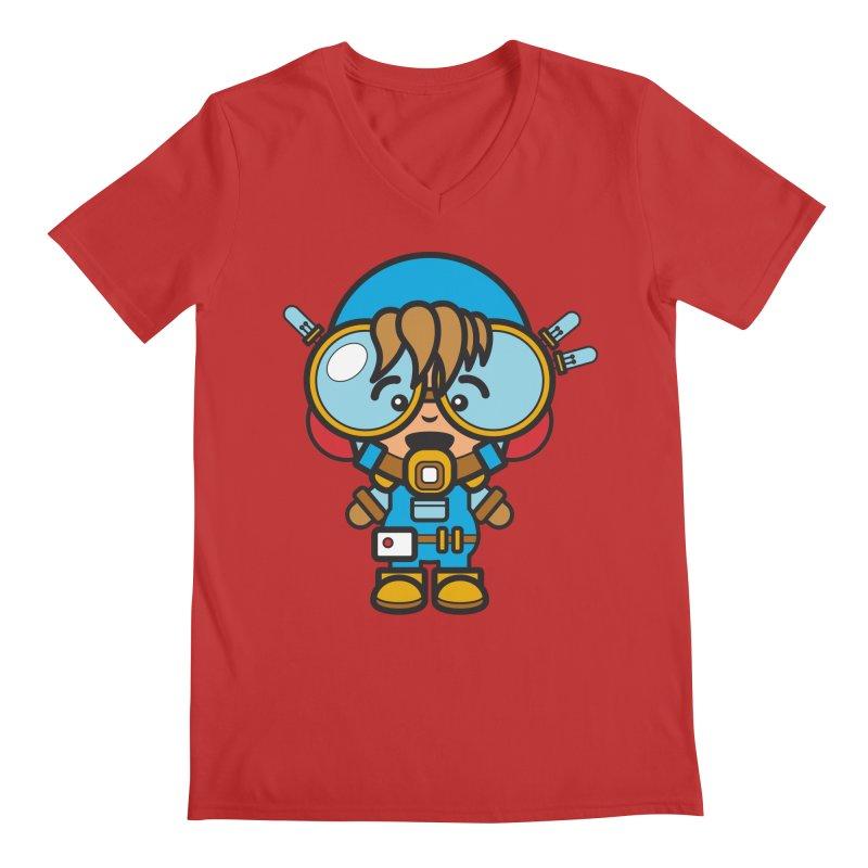 Workman (Cosplay Love™) Men's V-Neck by Big Head Productions Artist Shop