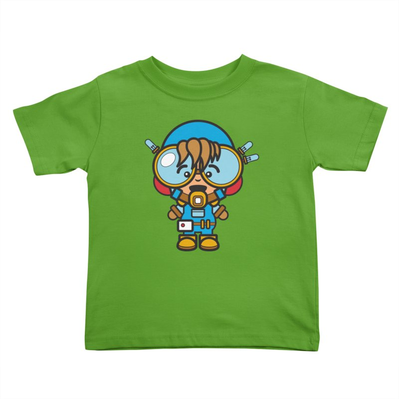 Workman (Cosplay Love™) Kids Toddler T-Shirt by Big Head Productions Artist Shop