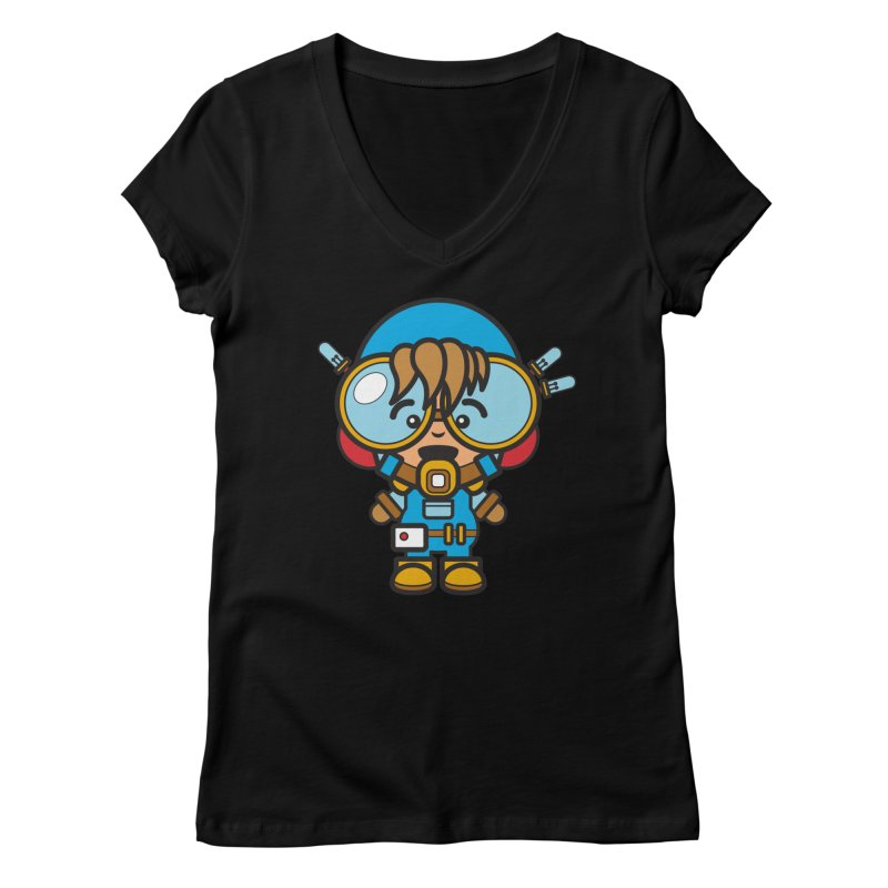 Workman (Cosplay Love™) Women's V-Neck by Big Head Productions Artist Shop