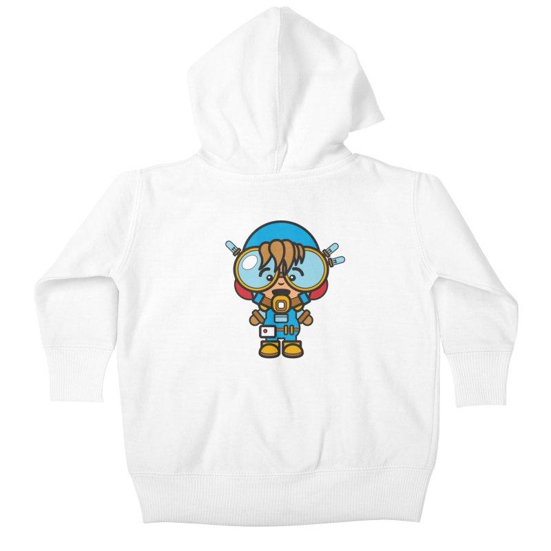 Workman (Cosplay Love™) Kids Baby Zip-Up Hoody by Big Head Productions Artist Shop