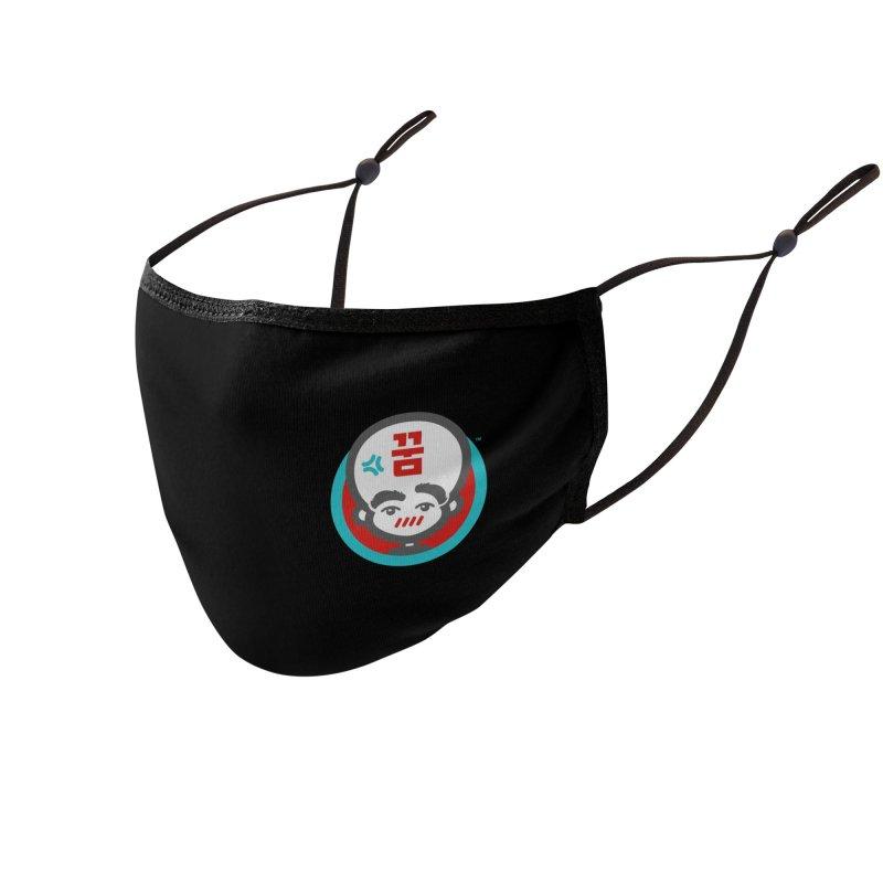 Big Head Productions (mark, color) Accessories Face Mask by Big Head Productions Artist Shop