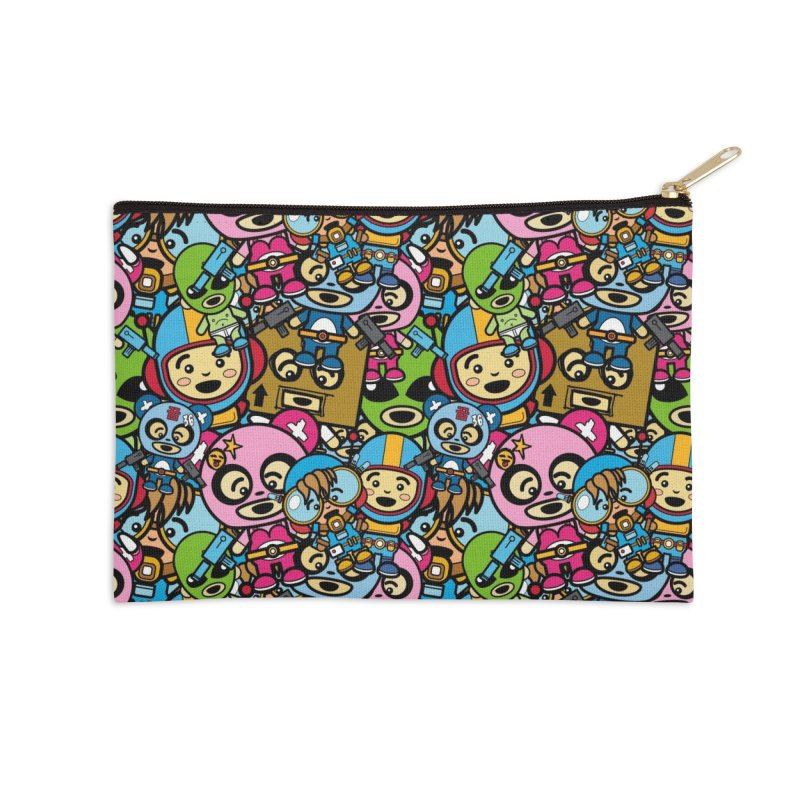 Cosplay Love Accessories Zip Pouch by Big Head Productions Artist Shop