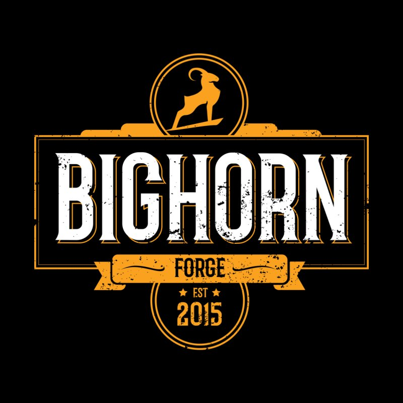 Bighorn Forge color logo by Bighorn Forge Shop