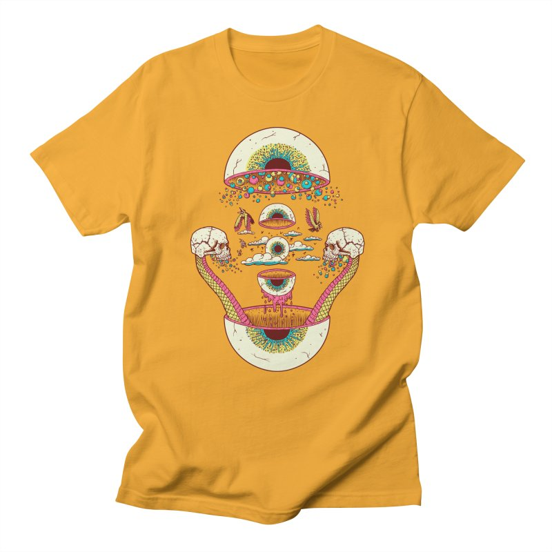 Sky Ball Men's T-shirt by Big Pizza
