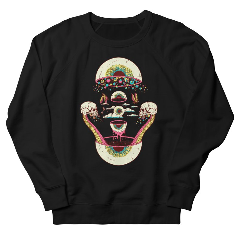 Sky Ball Women's Sweatshirt by Big Pizza