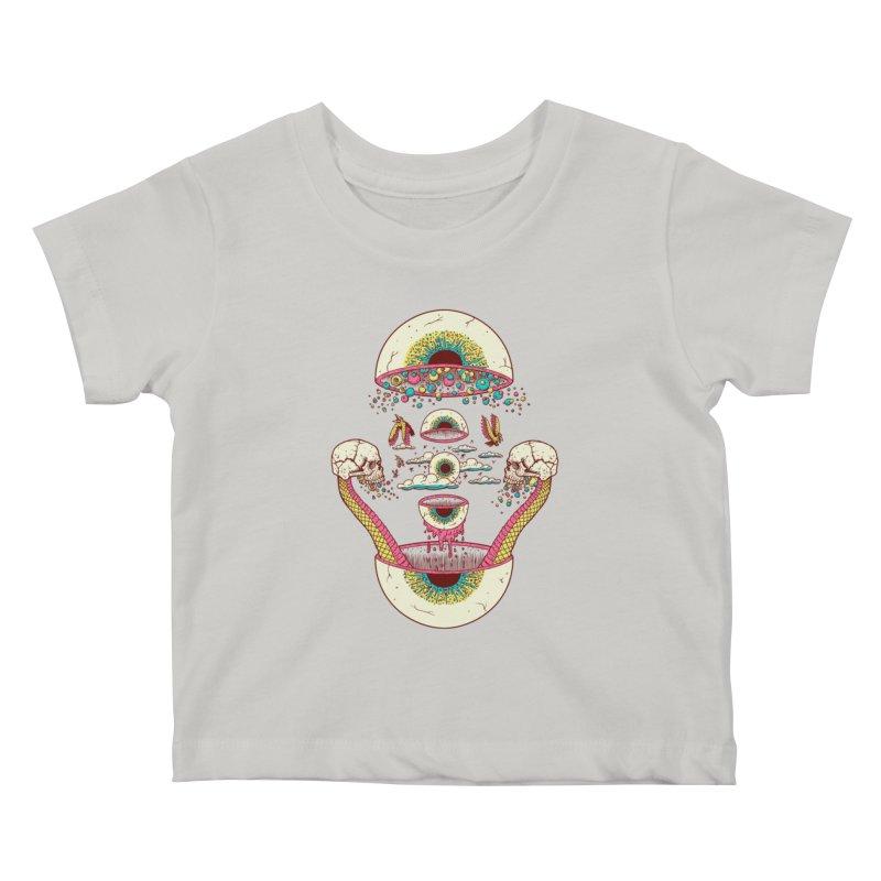 Sky Ball Kids Baby T-Shirt by Big Pizza